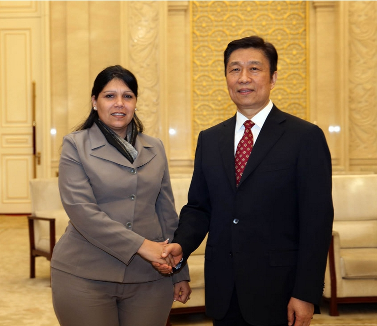China willing to Strengthen Political and Government Relations with Cuba