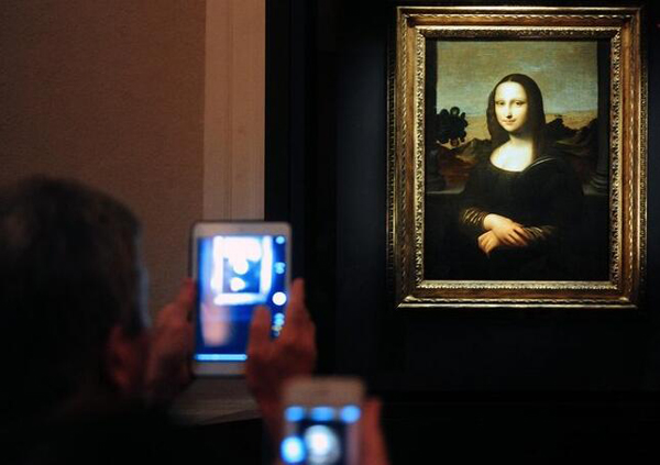 "Descubren ""un retrato escondido bajo la Mona Lisa"""