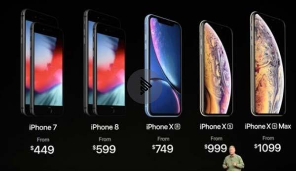 Cómo son los nuevos iPhone Xs, Xs Max y XR