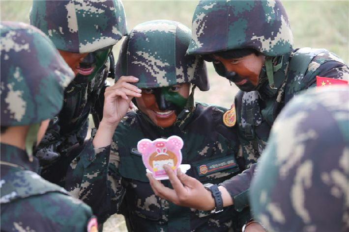 Primeras fuerzas especiales femeninas de China
