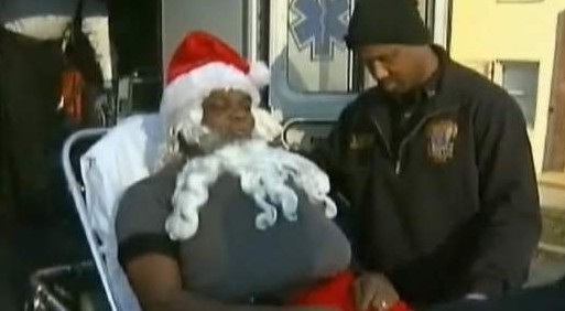 Disparan a Santa Claus en un festival de Washington