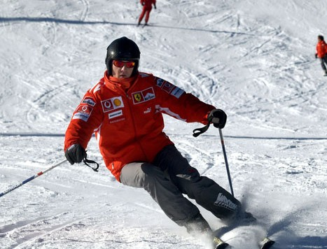 Schumacher en estado crítico tras accidente de ski